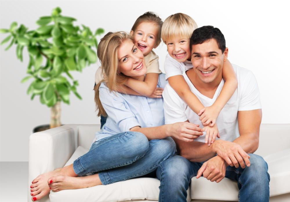 Root Canal Treatment in Van Nuys | Family Smiling