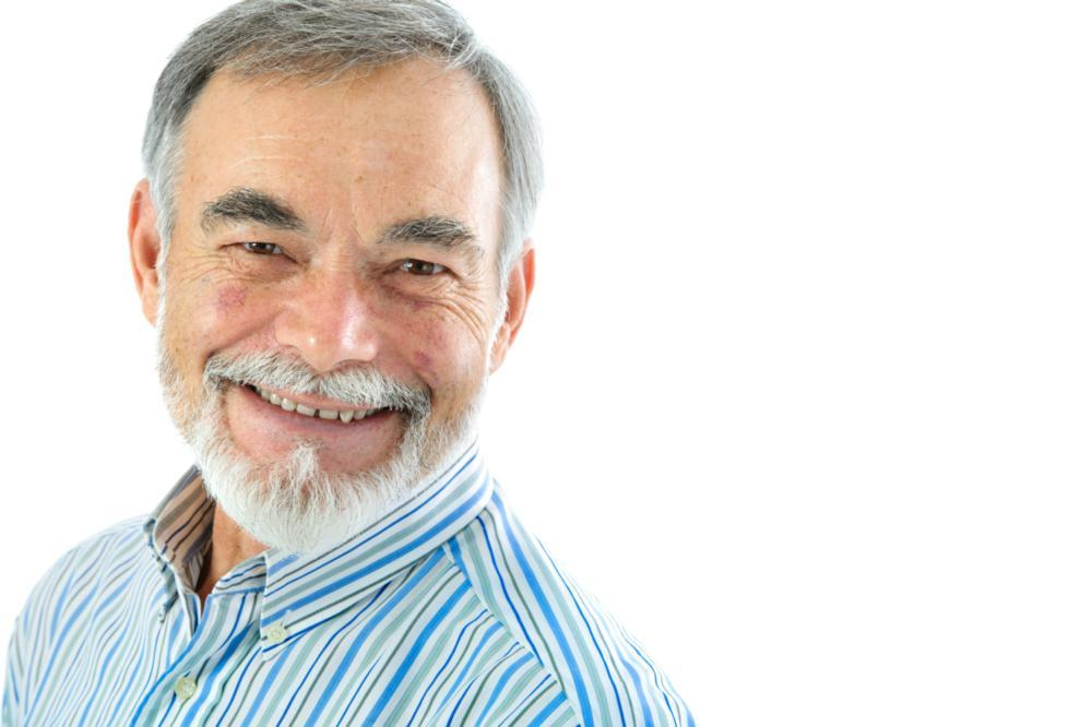 Smiling Older Man | Root Canal Treatment in Van Nuys
