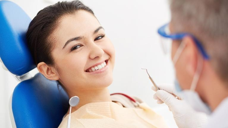 Woman at Dentist | Questions To Ask Your Dentist | Saticoy Plaza Dentistry