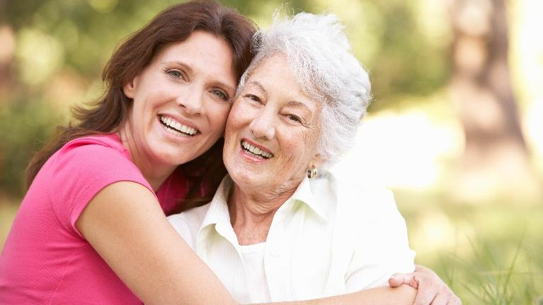 Women Hugging | Saticoy Plaza Dentistry